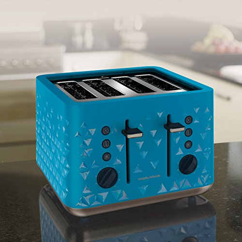 Morphy Richards 248104 Prism Toaster - Blue