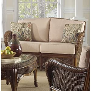 DO NOT SET LIVE!Turks Bay Loveseat with Cushions Indoor Fabric: Resort Life Multi