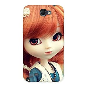 Tiny Baby Girl Multicolor Back Case Cover for Galaxy Note 2