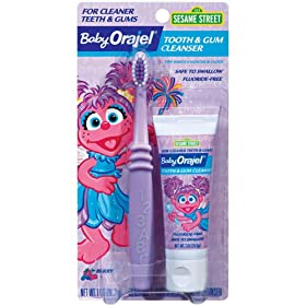 Baby Orajel Abby Cadabby Toothpaste - 1 oz.