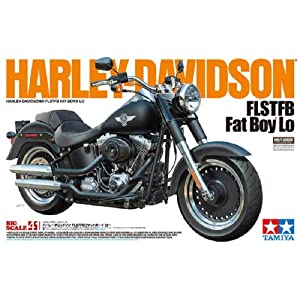 1/6 オートバイシリーズ No.41 ハーレーダビットソン Fat Boy Lo 16041
