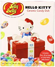 Jelly Belly Ceramic Candy Dish Gift Box, Hello Kitty, 1.4 Ounce