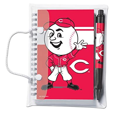 MLB Deluxe Hardcover 4x6 Notebook and Pen Set (Grip)