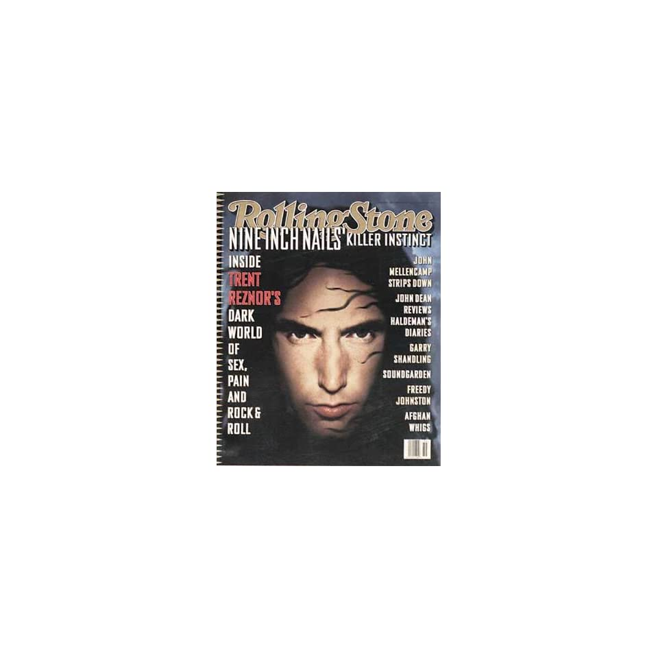 Rolling Stone Magazine, Issue 690, September 1994, Nine Inch Nails Cover