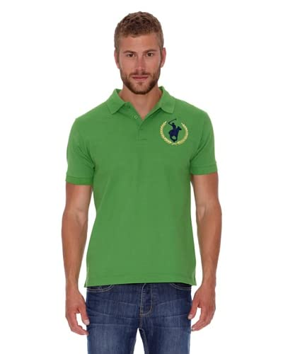 Polo Club Polo Custom Fit Logo Big [Verde]
