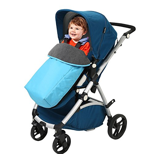 Buy Cheap Kris&Ken Unisex Infant Baby Footmuff for strollers Blue