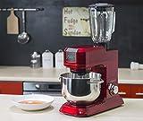 Noon 1160860 Kitchen Machine Robot Multifonction Rouge