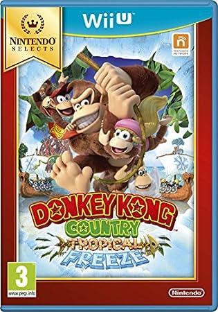 Donkey Kong Country: Tropical Freeze Select (Nintendo Wii U)