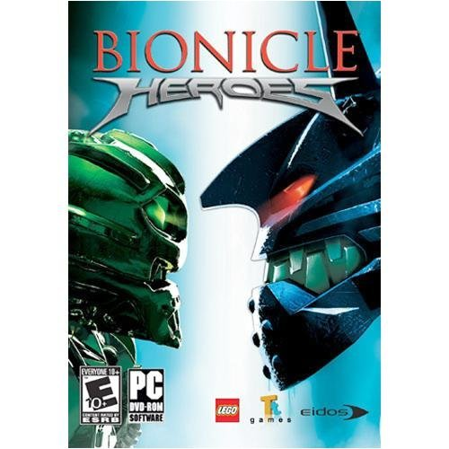 Bionicle Heroes - Pc front-717268
