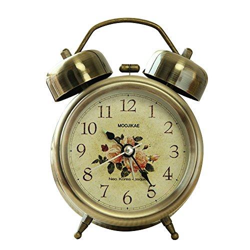 Kaimao Vintage Style Snooze Alarm Clock 3