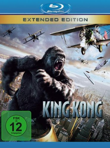 King Kong - Extended Edition [Alemania] [Blu-ray]