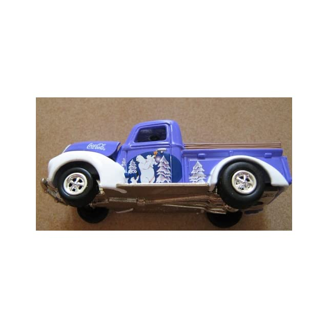 Johnny Lightning Coca Cola Holiday Ornaments 1940 Ford Pickup Truck