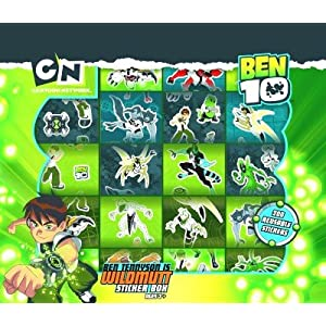 Ben 10 Sticker Box
