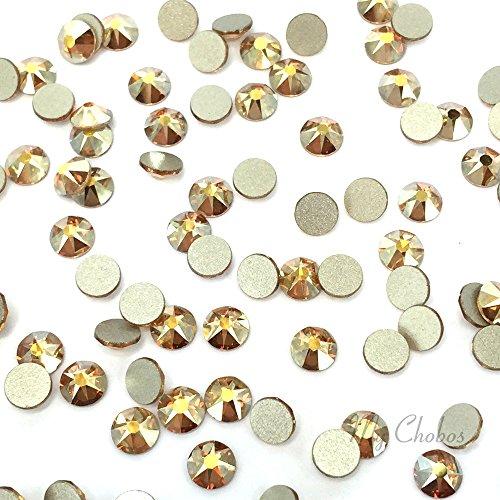 CRYSTAL METALLIC SUNSHINE (001 METSH) Swarovski NEW 2088 XIRIUS Rose 34ss 7mm flatback No-Hotfix rhinestones ss34 18 pcs (1/8 gross) *FREE Shipping from Mychobos (Crystal-Wholesale)*