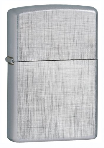 Zippo Classic Linen Weave Lighter, Personalized, Free Engraving!