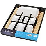 GRÄWE® 10-teiliges Asia Sushi-Set für 2 Personen inkl. Stäbchen