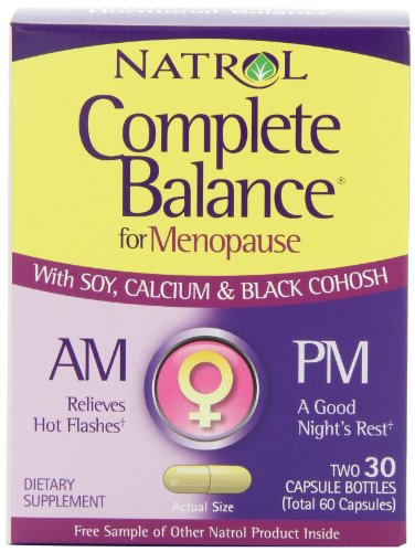 Natrol-Complete-Balance-AMPM-Formula-for-Menopause-Two-30-Capsule-Bottles