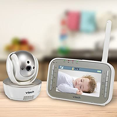 VTech VM343 Safe & Sound Video Baby Monitor with Night Vision