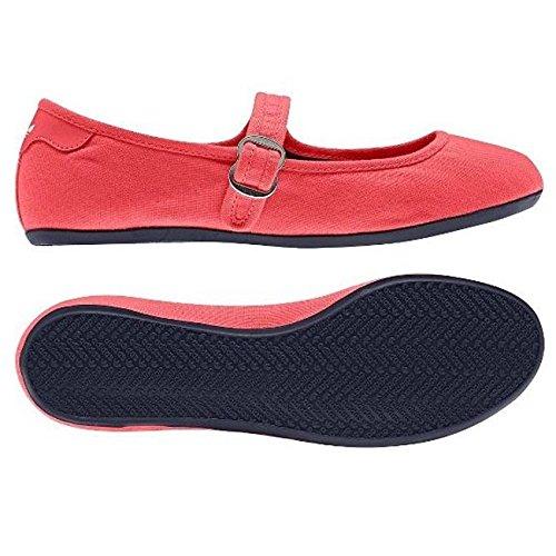 adidas, Ballerine donna Rosso rosso, Rosso (rosso), 40