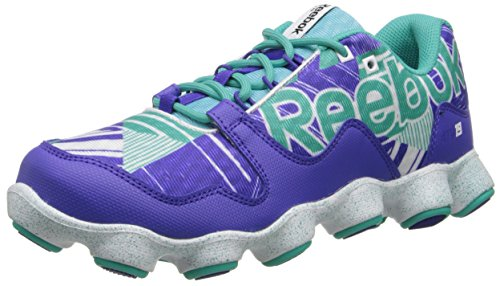 Reebok Women's ATV19 Ultimate 2.0 Running Shoe,Ultima Purple/Timeless Teal/Neon Blue/White,11 M US