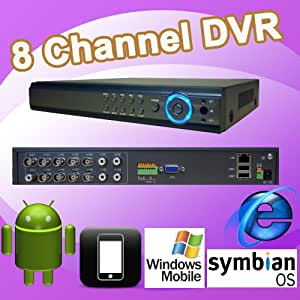 DNT 8ch 8 Channel H.264 Standalone Cameras Surveillance Cctv Dvr Digital Video Recorder Security Systems, D1(704x480)resolution Recording@120fps, Remote Network Monitoring, Support Internet Explorer, I-phone, Android, Wince, Symbian. CMS Software, 8ch Playback Simultaneously, USB Backup/vga Output/4 Audio Input, Support USB Mouse Control