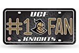 UCF Knights 100502 #1 Fan Metal License Plate Tag University of Central Florida