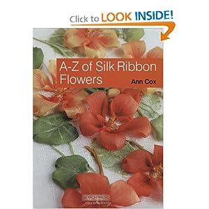 AZ de Flores da fita de seda