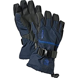 Hestra Czone Gauntlet Junior Glove - Kids' Navy/Blue, 4