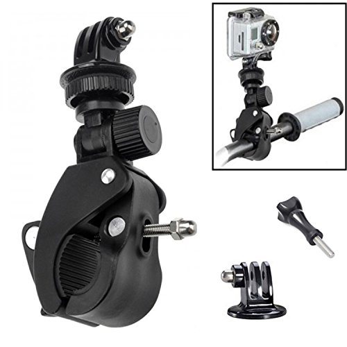 Oumers discount duty free Oumers Handlebar Mount For Gopro Sports Camera, Bike Bicycle Motorcycle Roll Bar Mount Pole Mount with Long Screw for Gopro HD, Hero 4 session , Hero 4 3+ 3 2 1, For GoPro Camera Accessories
