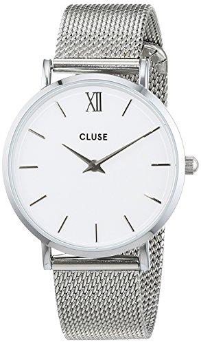 Cluse-Unisex-Armbanduhr-Analog-Quarz-Edelstahl-CL30009