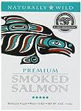 Alaska Smokehouse Premium Smoked Salmon, 4 Ounce Gift box