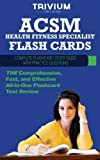 img - for ACSM Health Fitness Specialist Flash Cards: Complete Flash Card Study Guide with Practice Test Questions by Trivium Test Prep (2013) Paperback book / textbook / text book