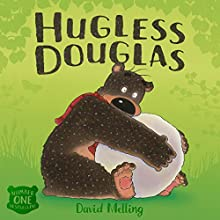 Hugless Douglas Audiobook by David Melling Narrated by Alan Davies