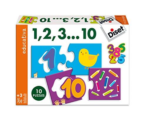 Diset 63301 - 1 2, 3, ...10