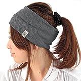 (カジュアルボックス)CasualBox RIBR/Vヘアバンド ランニングターバン スポーツ ヨガ プライム (グレー×ブルー) [ウェア&シューズ] メンズ レディース 帽子 Charm チャーム