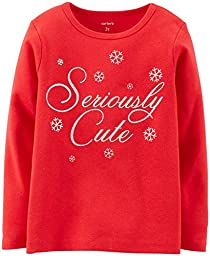 Carter\'s Seriously Cute Tee (Toddler/Kid) - Red-3T