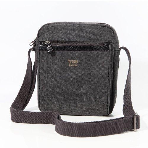 troop-london-0218-bolso-de-mensajero-unisex-tela-color-negro