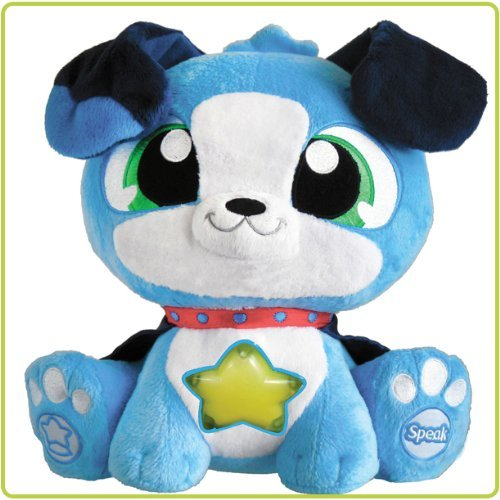 "Starshine Watchdogs Blue 9"" Talking Plush Pet and Night Light"