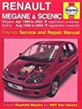 Renault Megane and Scenic (99-02) Service and Repair Manual (Haynes service & repair manual series) by Legg, A. K., Gill, P. 3rd (third) Revised Edition (2002)