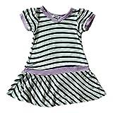 Splendid Infant Girls White/Grapesicle Striped Dress White