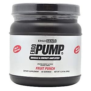 Ergogenix Ergo Pump Fruit Punch 40/Srv