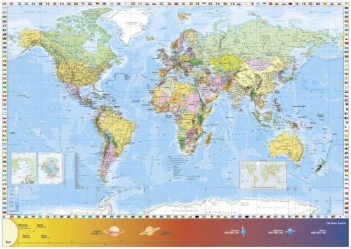 Schmidt World Map Jigsaw (1500 Pieces)