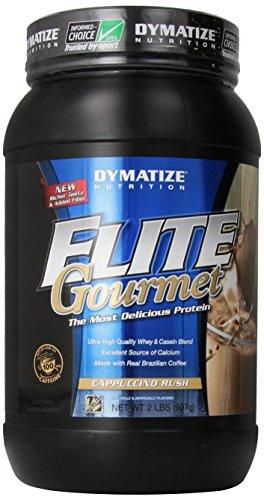 Dymatize Nutrition Elite Gourmet, Cappuccino Rush, 2 Pound