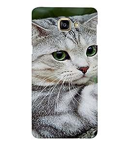 EPICCASE Cute cat Mobile Back Case Cover For Samsung Galaxy A9 (Designer Case)