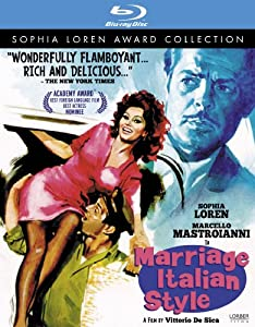 Marriage Italian Style (Sophia Loren Award Collection) [Blu-ray]