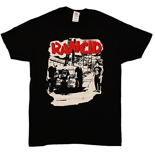 Rancid - Alley Photo - Black T-Shirt, Size: X-Large, Color: Black