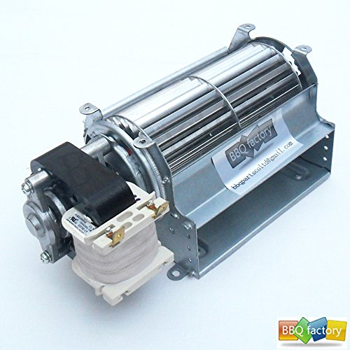 BBQ factory GFK21, FK21, BLOTSDV Replacement Fireplace Blower Fan UNIT for Heatilator, Majestic, Heat N Glo, Rotom R7-RB66