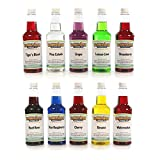 Hawaiian Shaved Ice - Snow Cone Syrups - 10 Flavor Pack