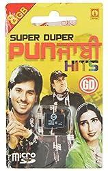 GD Memory Card Super Duper Punjabi Hits 8 GB With Card Reader (Green, GM30)