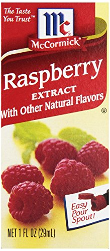 McCormick Raspberry Extract With Other Natural Flavors, 1 oz. (Pack of 6) (Hazelnut Extract Bulk compare prices)